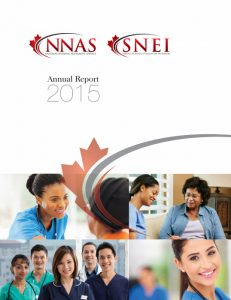 NNAS Annual Report 2015 front cover