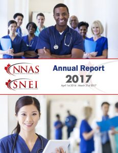 NNAS Annual Report 2017 front cover